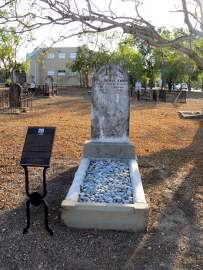 John Knight grave, Palmerston Cemetery