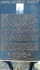 John Knight Memorial Plaque