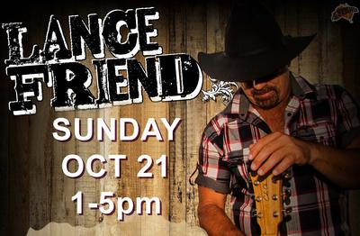 See Lance Friend at Noonamah Tavern