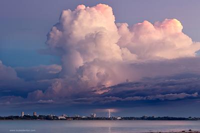 Lightning over Darwin