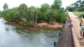 Low level bridge adelaide river