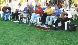 Musicians at Government House