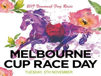 Charity Frog Races at Noonamah Melbourne Cup day