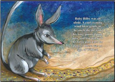 Baby Bilby - Illustrated by Jann Forge