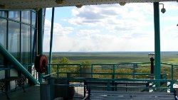 Window on the wetlands observation deck