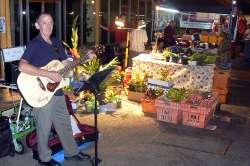Palmerston Markets busker