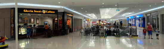 Palmerston Shopping Centre eatery