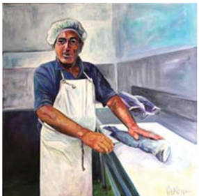 2011 Art Award Portrait of Ziko by Pete Riley