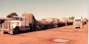 Road Trains at Threeways Roadhouse