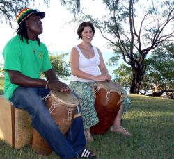 drummers at the seabreeze festival