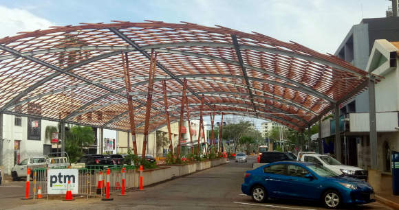 street shade structure