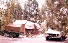 Darwin tent accommodation