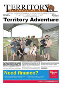 Territory Regional Weekly front page