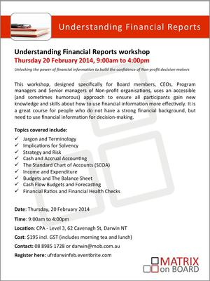 understanding financial reports Understanding financial statements why we have financial statements before we start our review of financial statements, it's important to understand why they are put together in the first place.