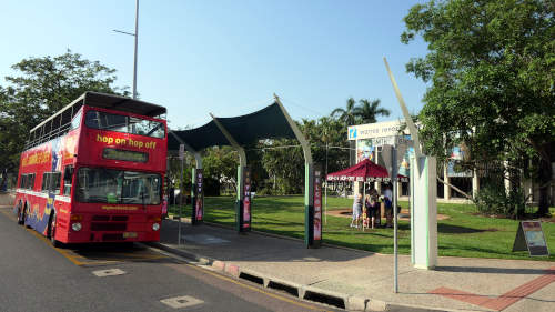 local bus and information centre