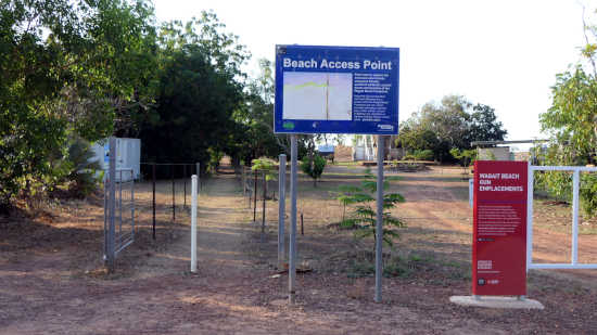 wagait beach access track