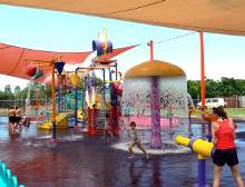 Leanyer water playground