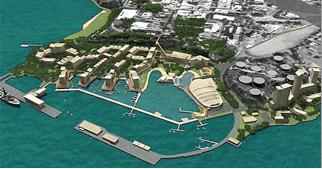 Proposed new Port Darwin facilities