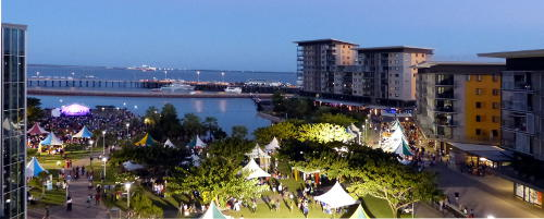 Evening on Darwin Waterfront