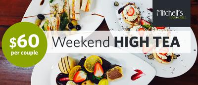 A perfect weekend treat for you and your friends