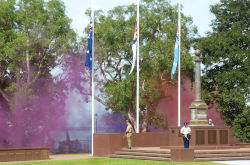 19 February at Cenotaph Darwin