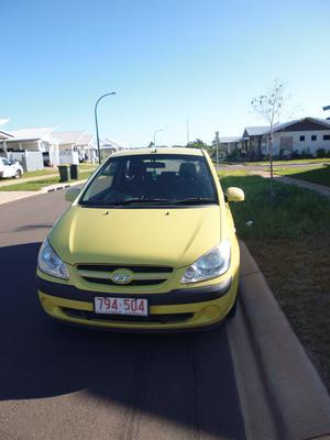 2007 Hyundai Getz Hatchback $5000 neg