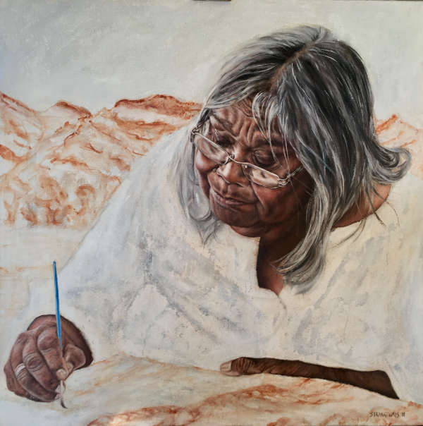 2018 winning Portrait of a Senior Territorian