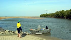 Buffalo Creek boat ramp
