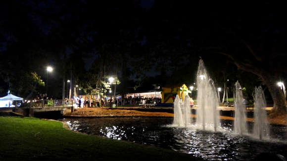 Opening new botanic gardens centre