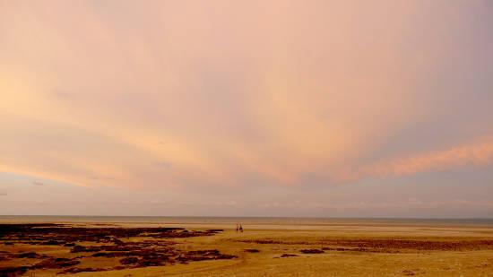 Evening colours at Buffalo Creek beach.