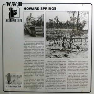 Building Howard Springs