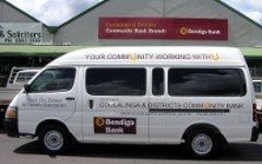 Coolalinga Community bank Bus