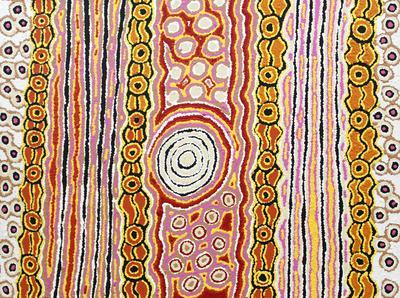 Anne Dixon Ikuntji Artists Haasts Bluff Rockhole