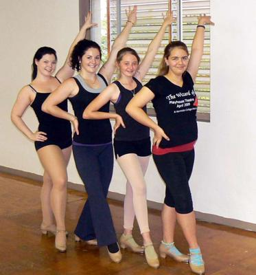 Dancing at the Darwin Performance Academy