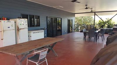 Relax under a huge verandah