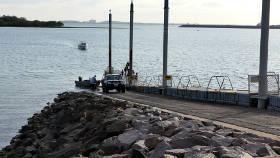 East Arm boat ramp