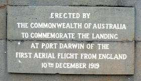 first flight from England memorial