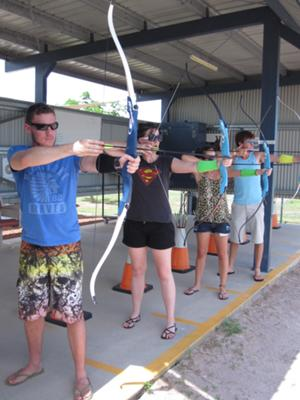 Everyone must try archery at least once in their life. Bring some mates for the ultimate competition.