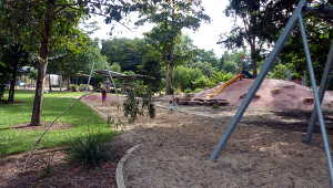 Flying Fox and shady playground