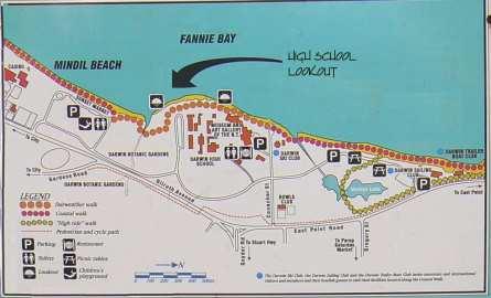 Mindil Beach Map