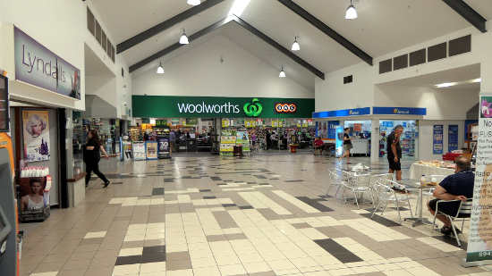 Inside Karama Shopping Plaza