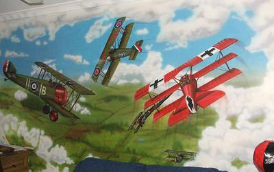 wall mural example