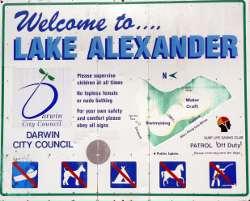 Council sign display