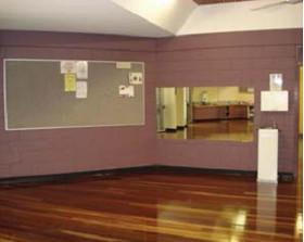 Large room Malak Community Centre