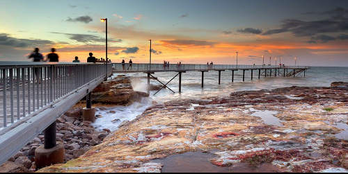 Nightcliff Jetty Photo by Louise Denton