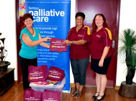 Supporting palliative care Darwin