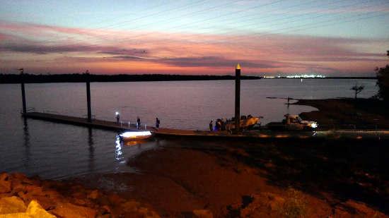 Evening sky at Palmerston boat ramp