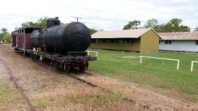Freight carriages and sheds