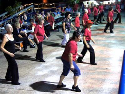 Dancing at the Wharf