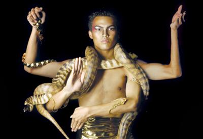 Snakes Gods & Deities. Photo: Mark Marcellis